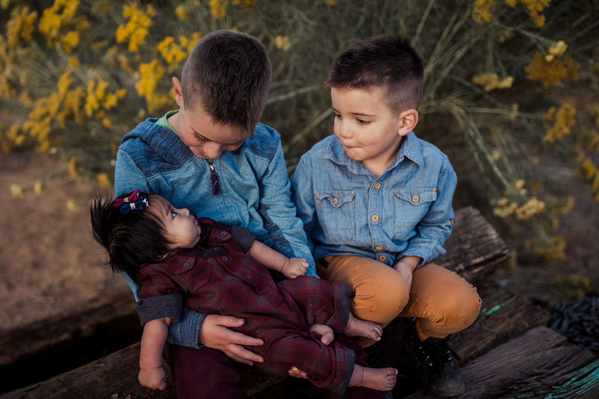 Colomb Family - We had a great time working with Joshua for our family photos. He was really patient and worked well with our 3 small children, which is not always easy! Thanks to Joshua we now have beautiful family photos that we will always treasure.