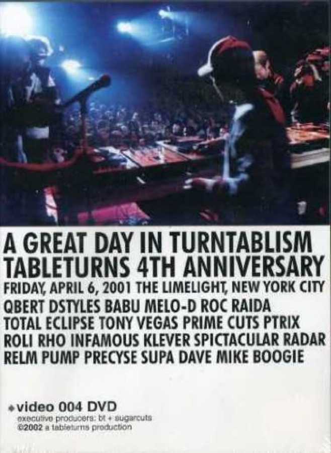 """Images from  Amazon.com , """"TableTurns 4th Anniversary"""" DVD"""
