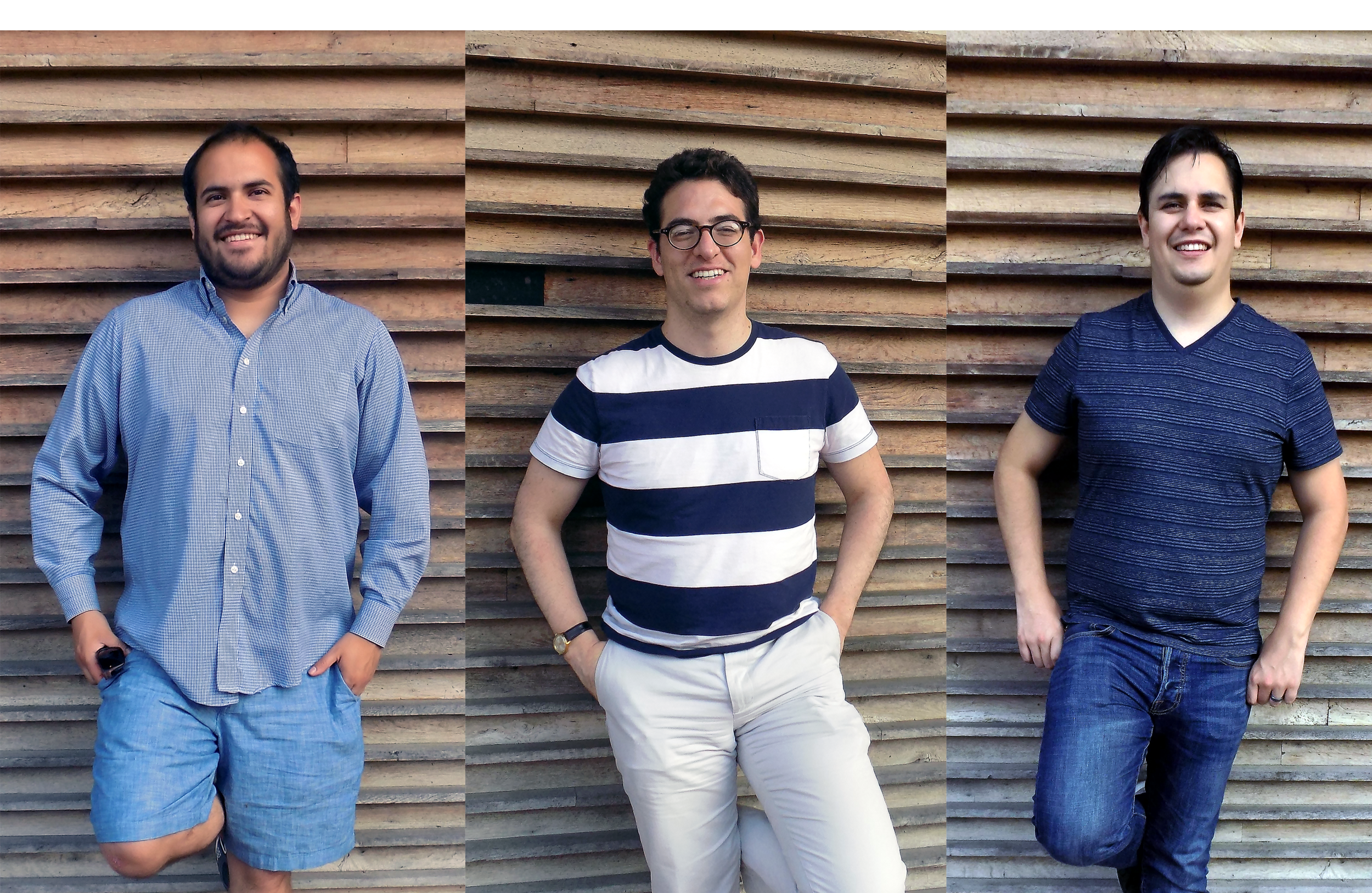 From left to right: Juan Manuel Balcazar, Matias Arnal, and Rodrigo Diaz