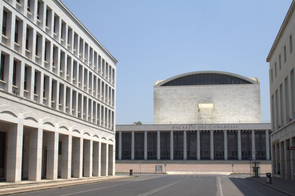 Palazzo dei Congressi    - The Palazzo dei Congressi is one of the most celebrated and representative examples of rationalist architecture. Designed by the architect Adalberto Libera and built between 1939 and 1954, it is the ideal location to host any event.Its wide and versatile exhibition spaces (for a total of 2,500 square meters) allow to design volumes according to customer needs. The halls, unique for the spectacular beauty of their marble that blends modernity with tradition, the originality of the furnishings and the particularity of the frescoes, offer a wide range of solutions for trade shows, conferences, exhibitions and gala evenings.
