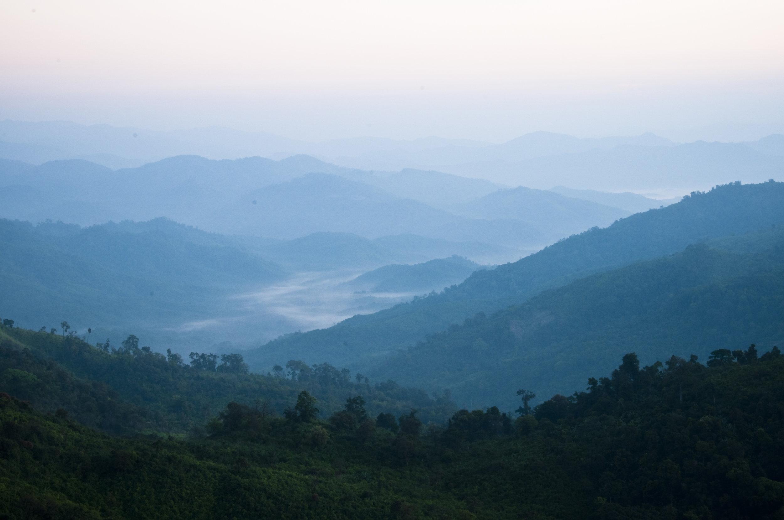 The Mon Hills