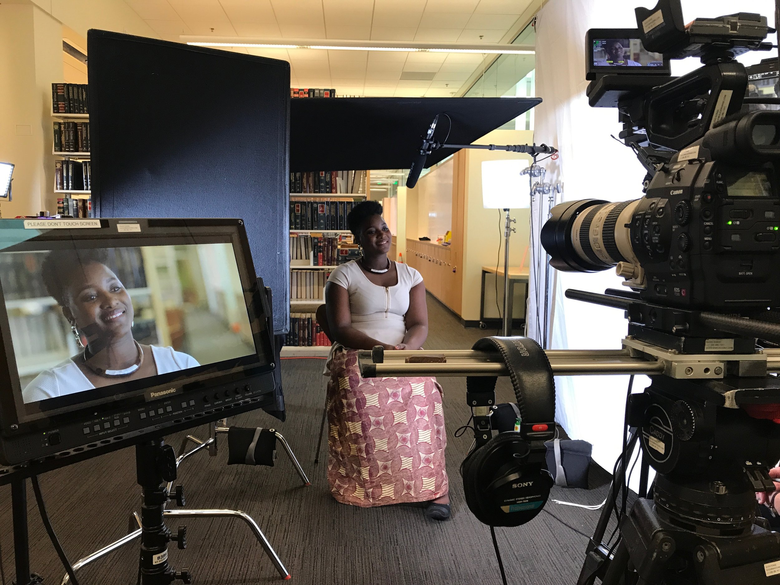 We had the privilege to interview Isatou at the University of Washington in the Law Library