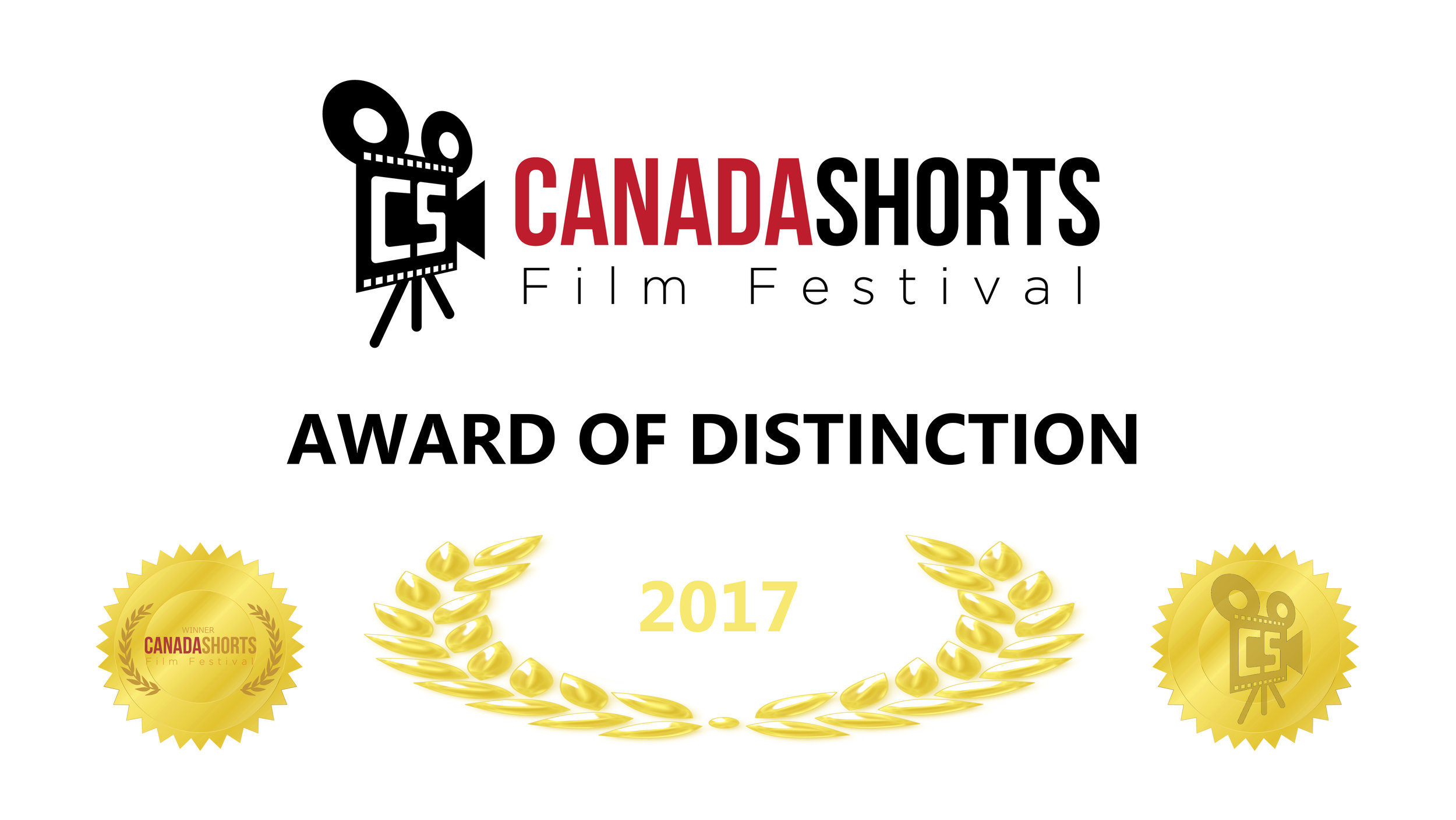 Canada Shorts award of distinction certificate.jpg