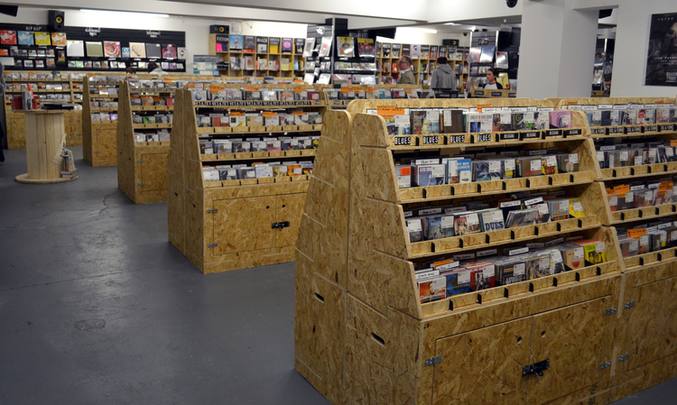 Shop fit out - Rough Trade Nottingham