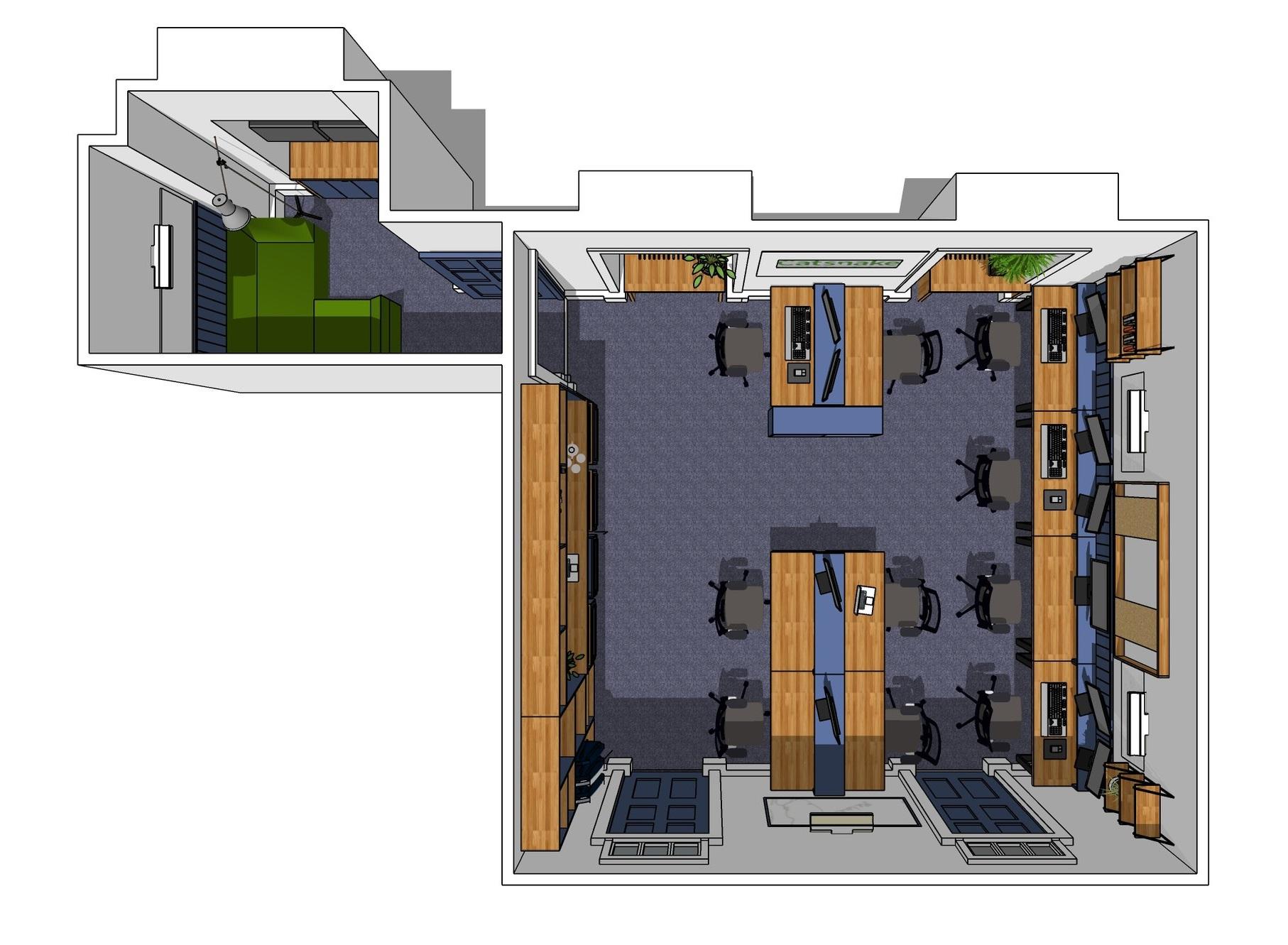 Catsnake Office - DESIGN / BUILD / INSTALL