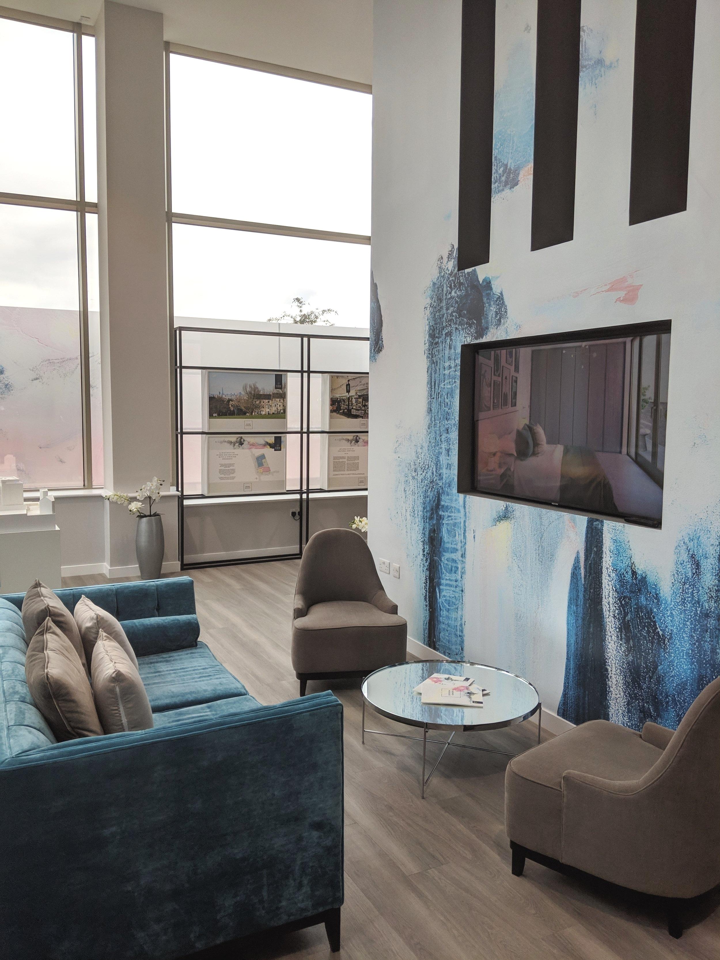 Marketing Suite - Crest nicholson / New cross gate