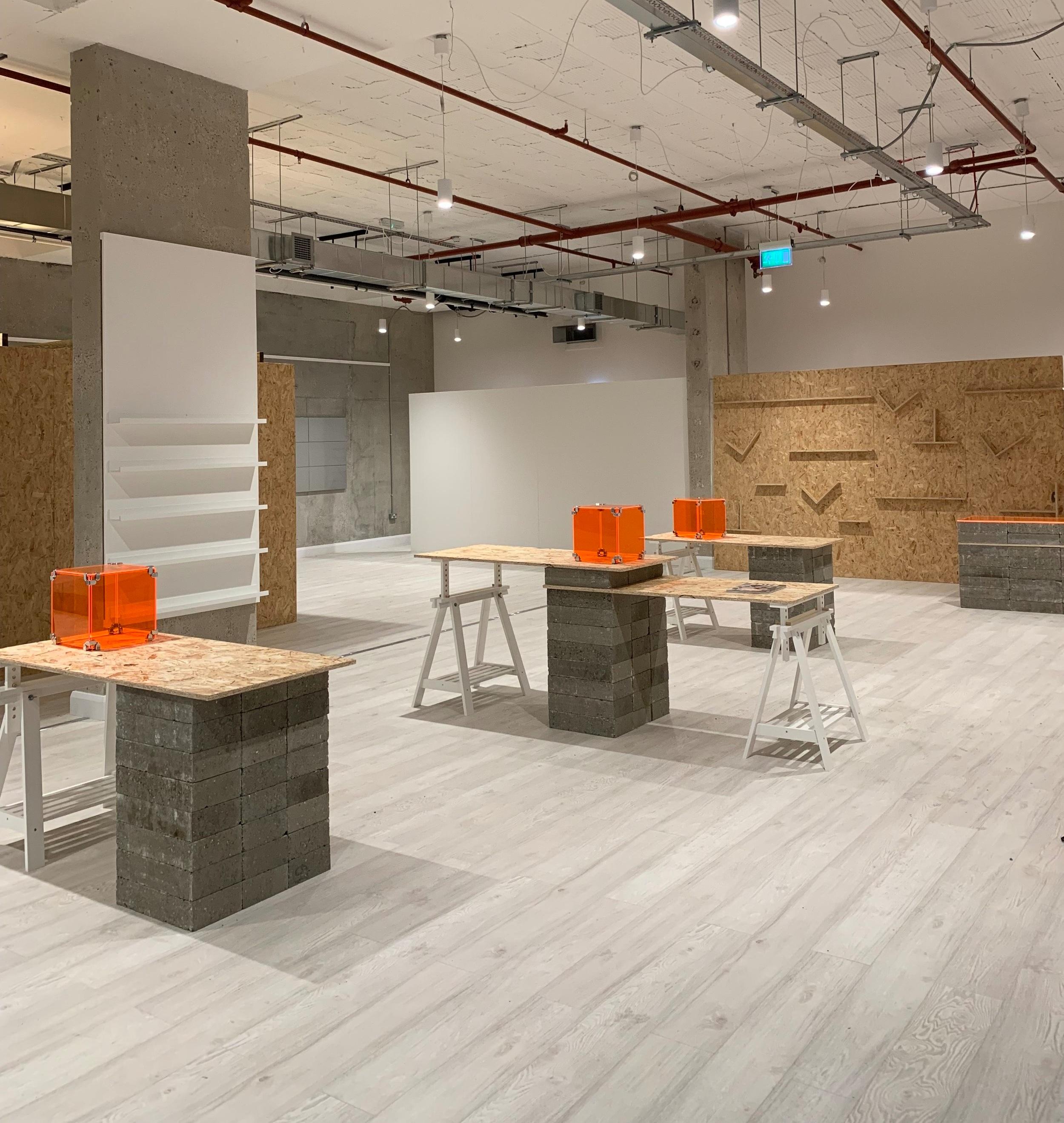 BRICK Mag - pop up retail space / hammersmith