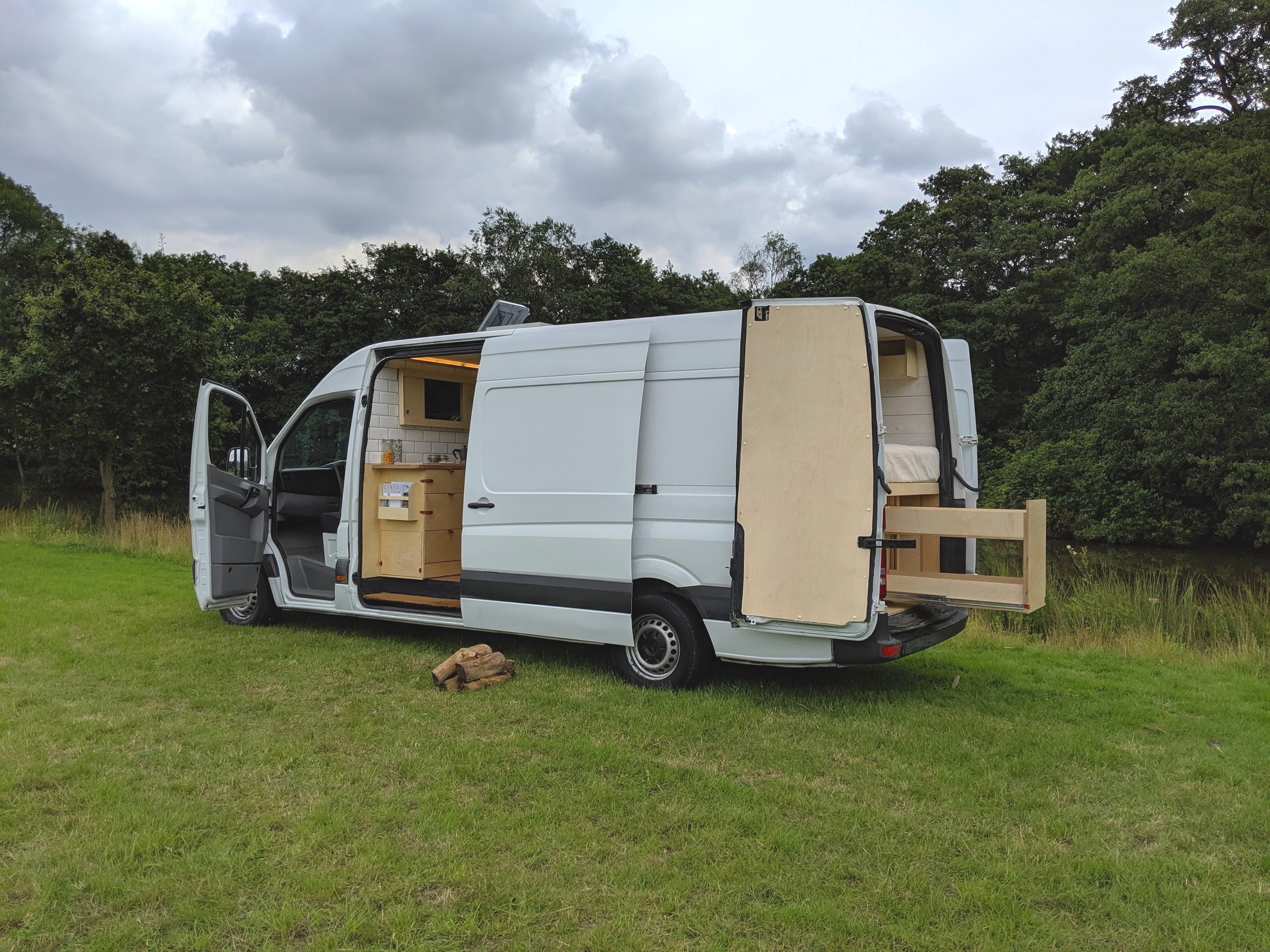 OOOD van outside