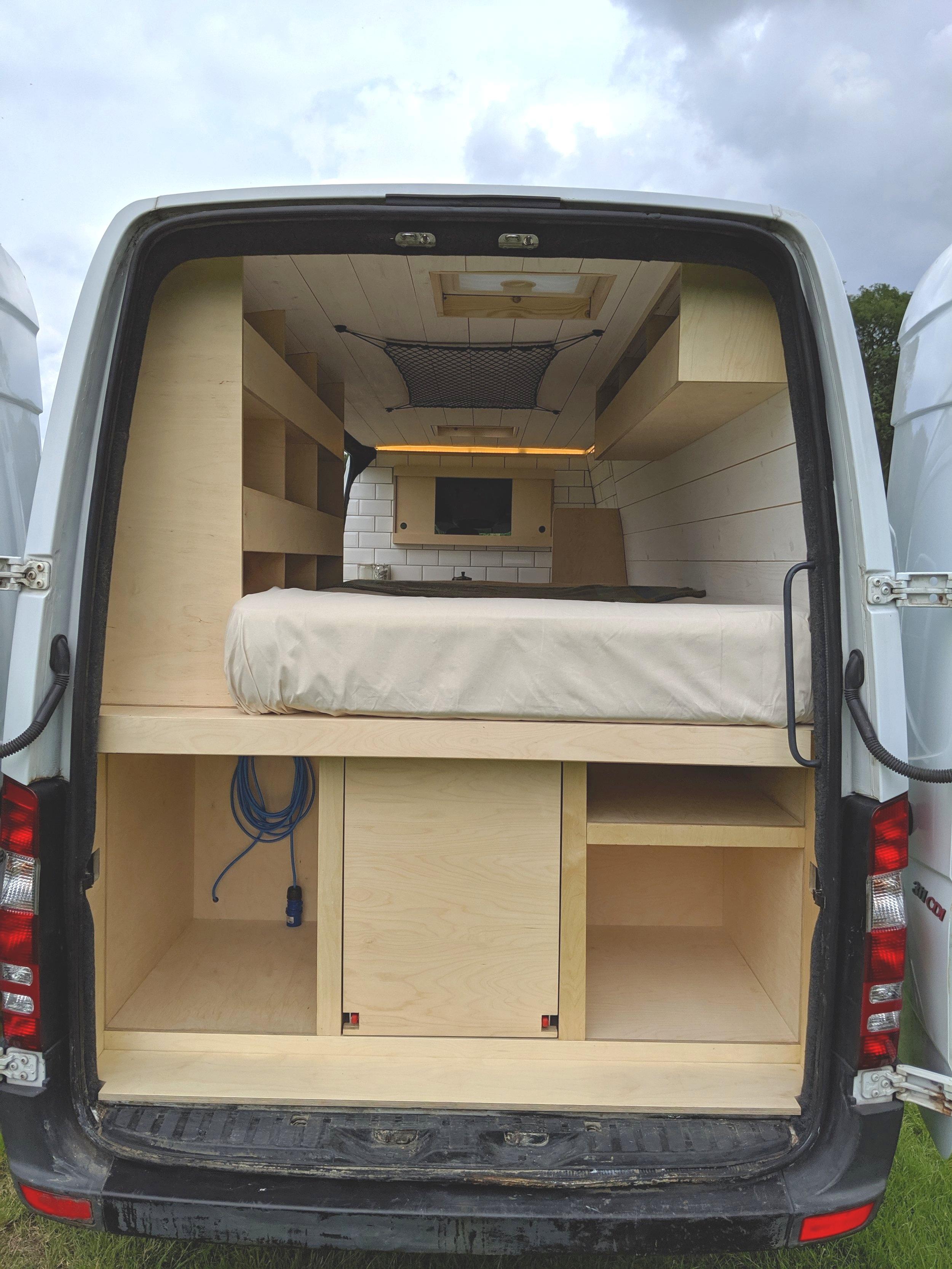 OOOD van back view