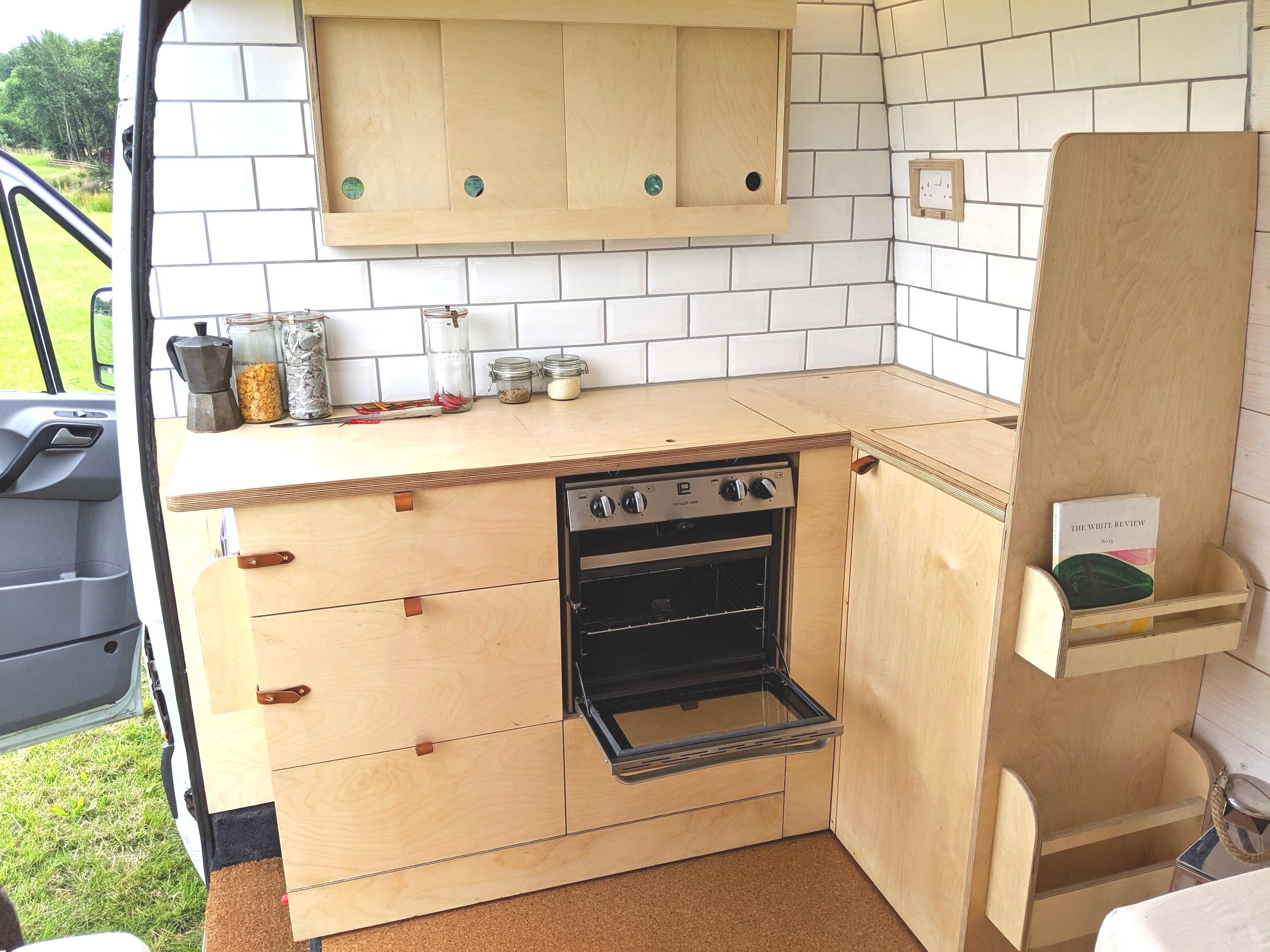 OOOD van kitchen