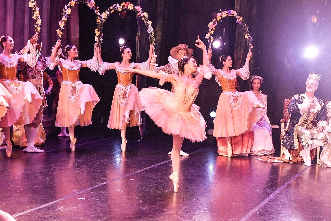 Photo by  Frank Obara  from First State Ballet Theatre's Sleeping Beauty