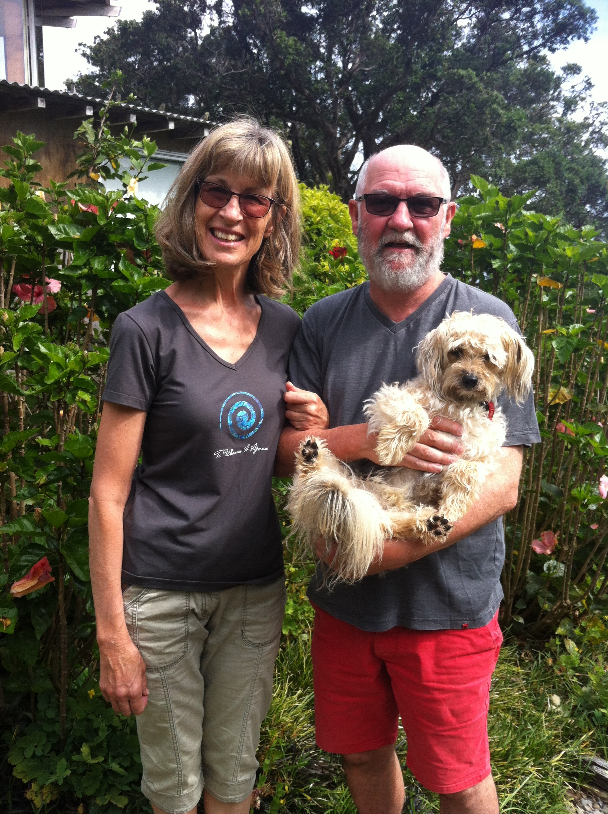 Helen, Bill and Rufus because of course, ARUHE is pet-friendly