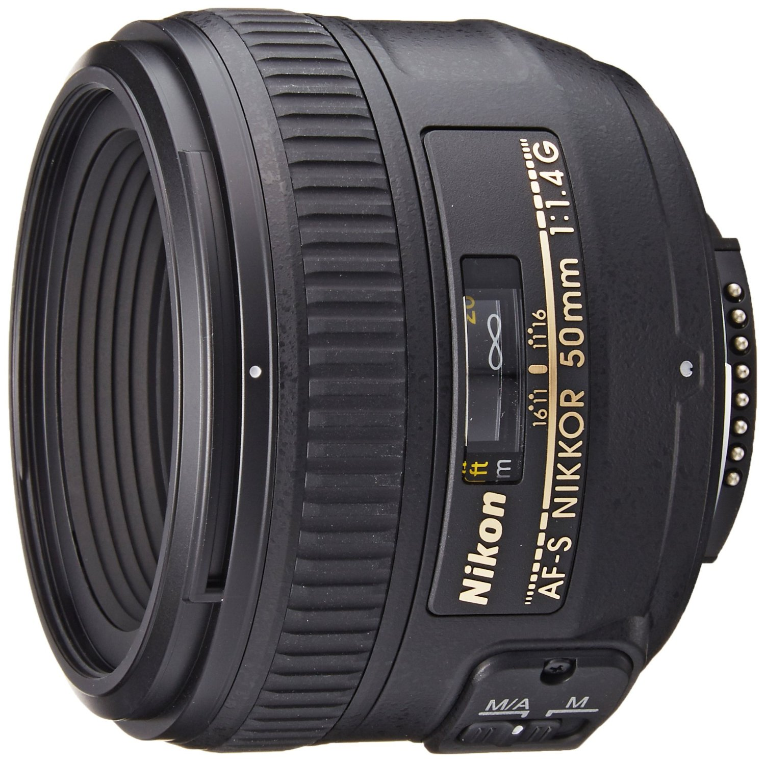 50mm Lens - Nikon AF-S FX NIKKOR 50mm f/1.4G Lens with Auto Focus for Nikon DSLR Cameras