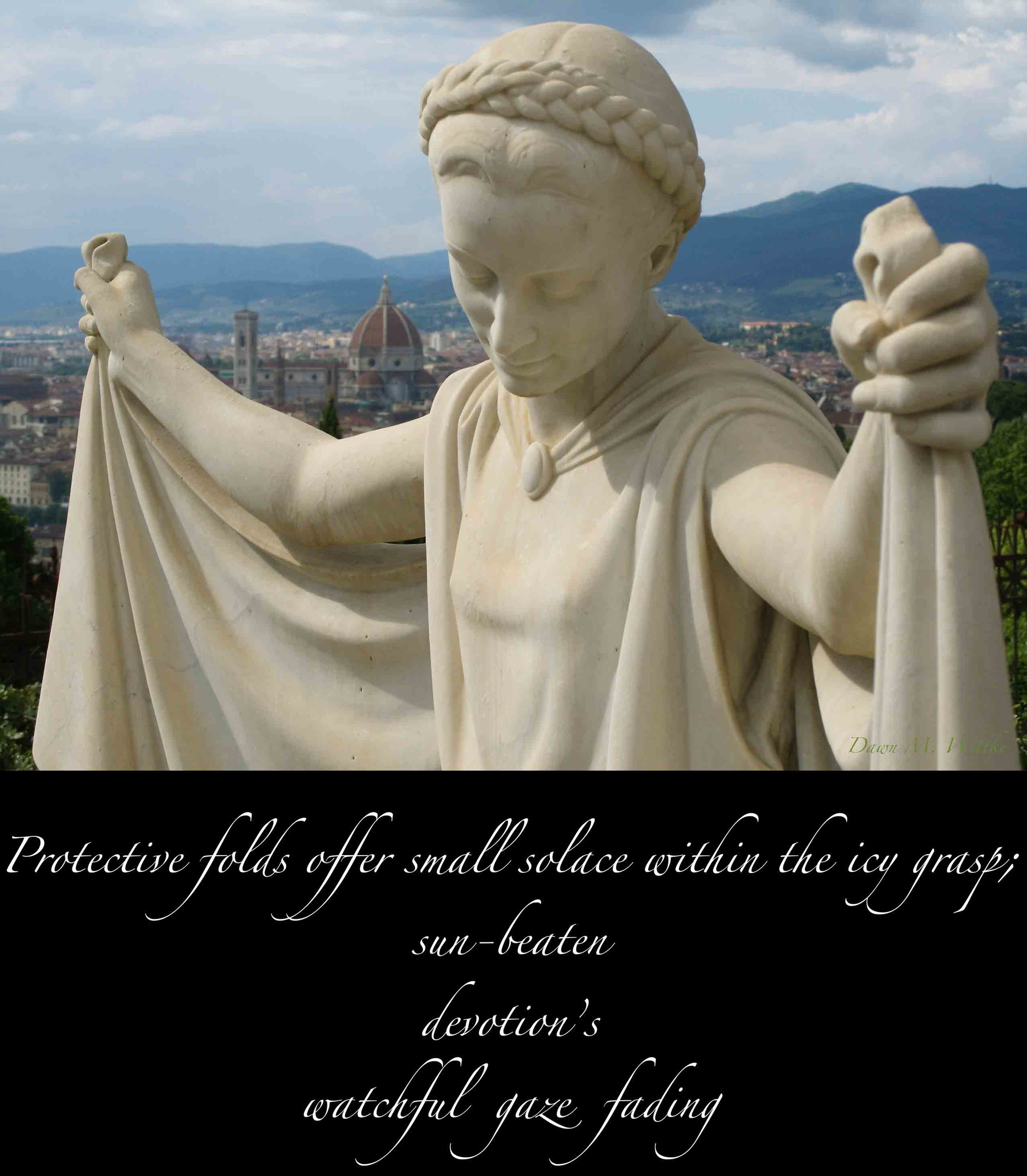 .  .    From    —Perceived Reflections—     by    Dawn M. Wittke    An outsider's perspective on the spirit of Firenze (2013)      .      .      .      .        .        .          .        .        .          .        .                              .