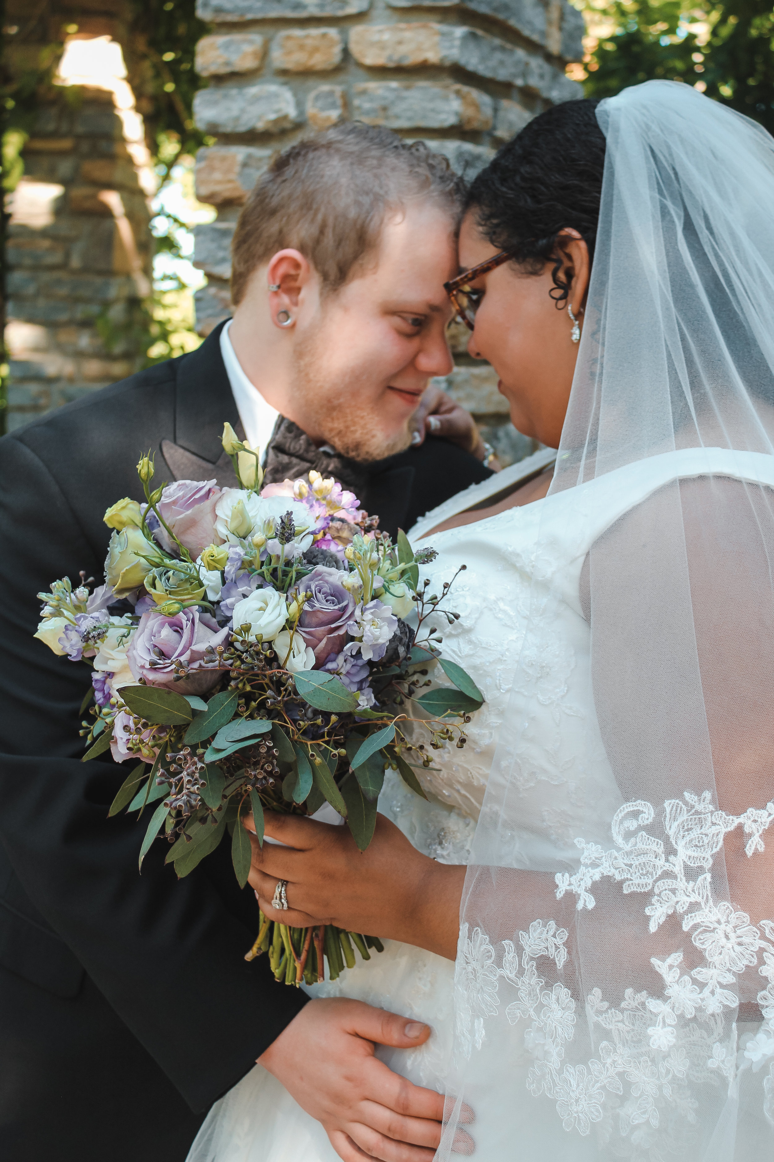 Elijah and Corrie S. happily married on June 3rd, 2018