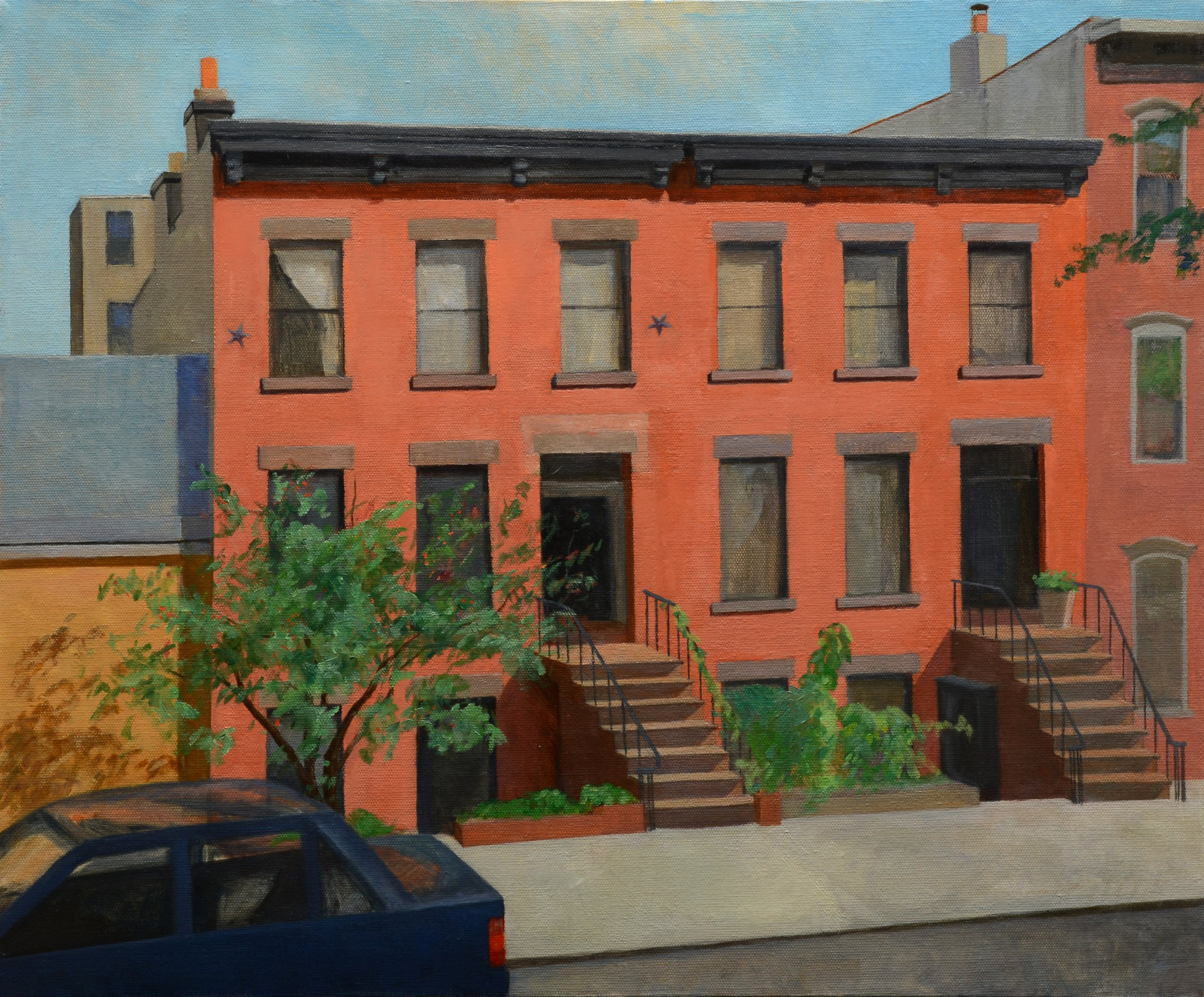 """Ann's View, oil on canvas, 20"""" x 24"""""""