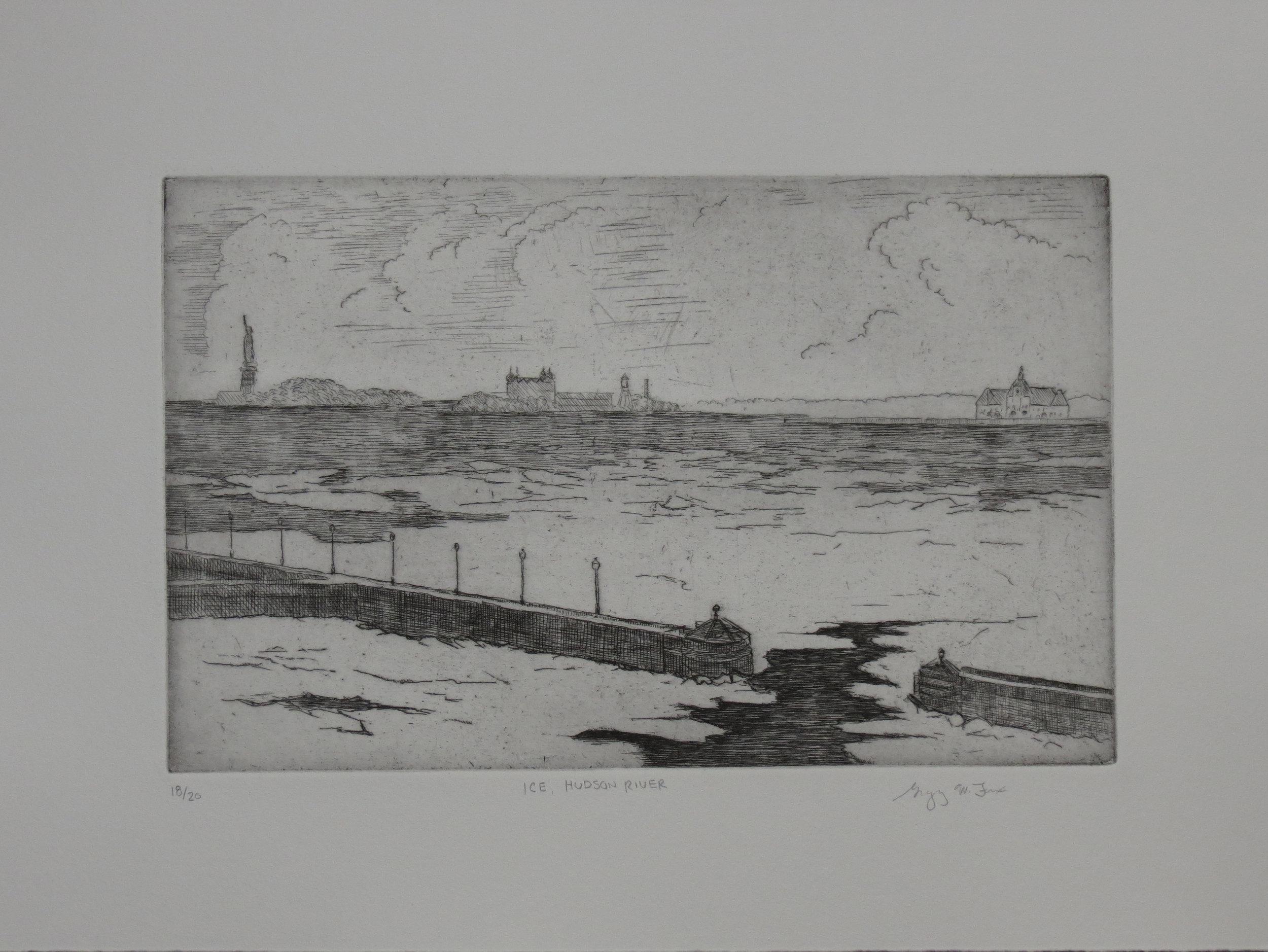 Ice, Hudson River