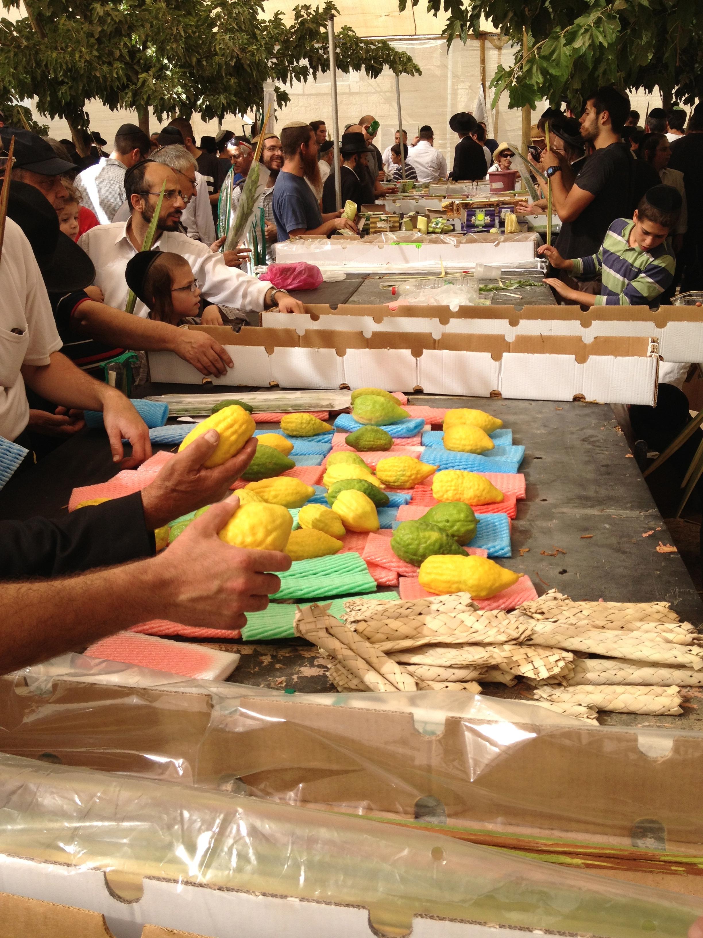 Jerusalem Sukkot Market #JewishFoodieForever #TBT @amhromadka