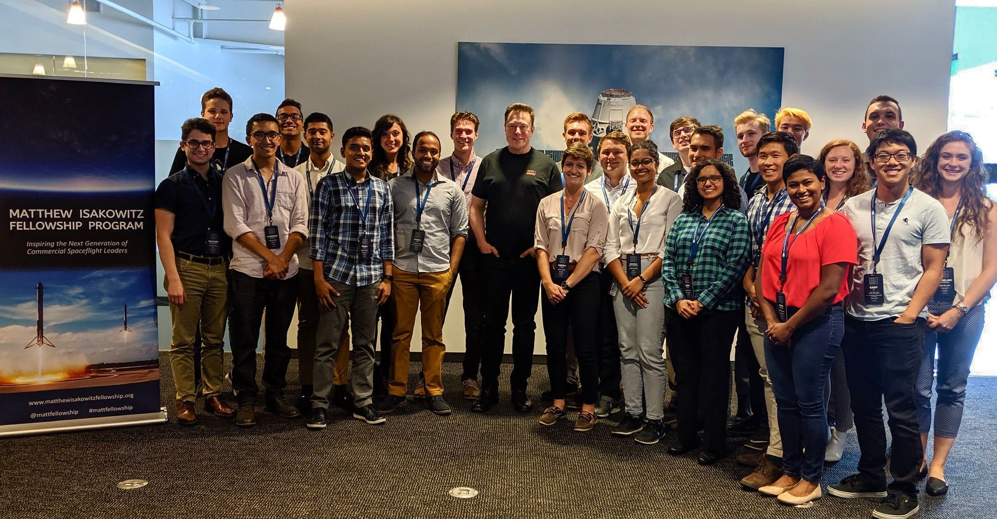 Q&A with Elon Musk (Founder and CEO, SpaceX) and the 2019 Fellows.