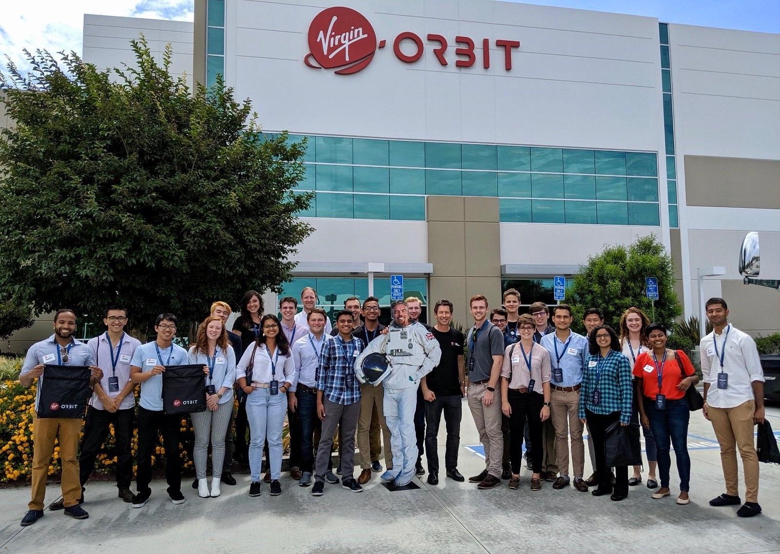 Touring Virgin Orbit.