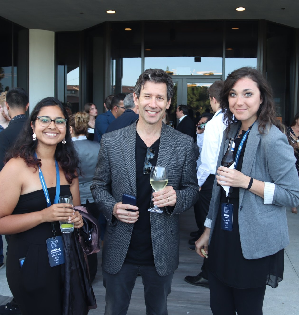 Fellows with Dan Hart (President and CEO, Virgin Orbit) at the 2019 Summit Reception.