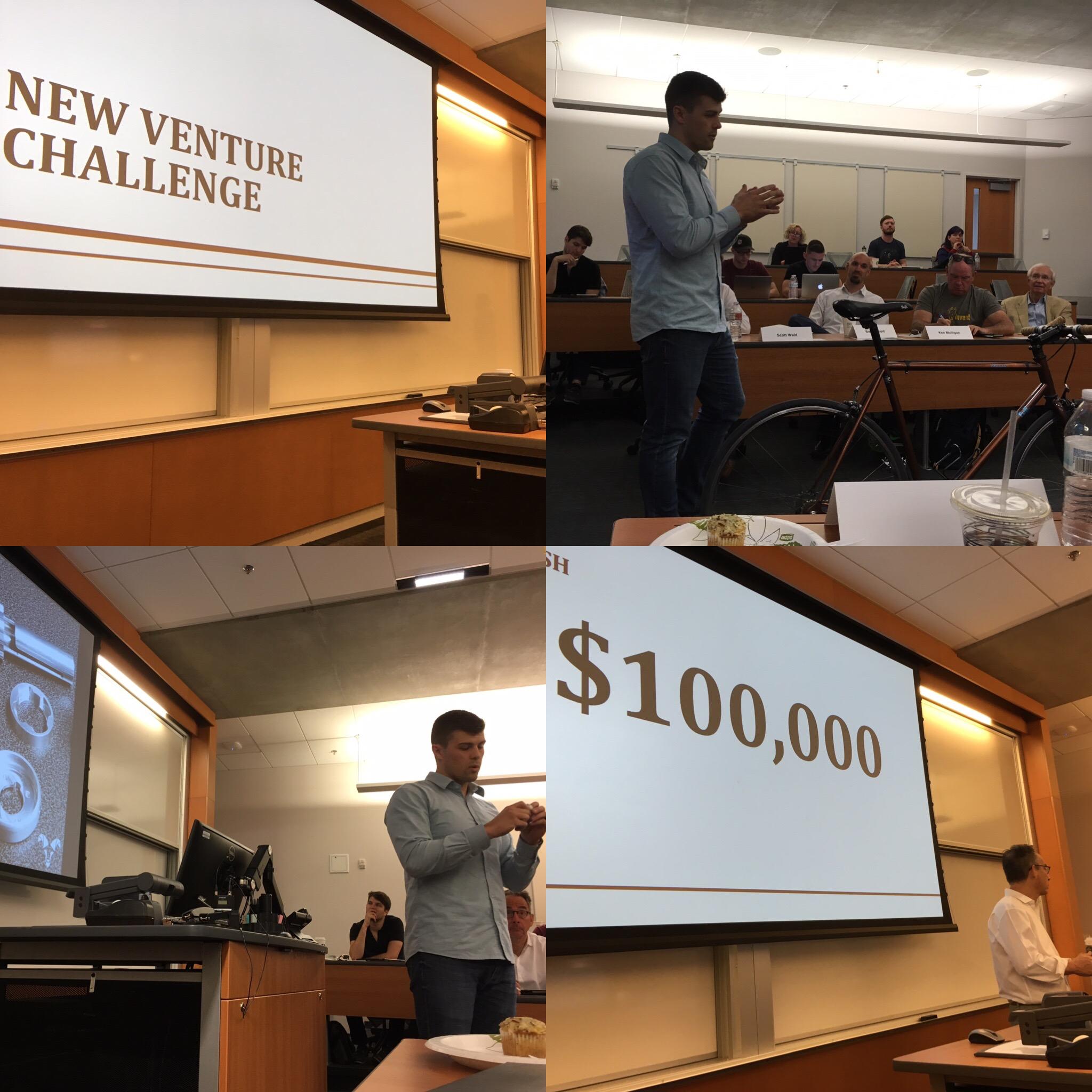 Judged the New Venture Challenge  ASU WP Carey School of Business