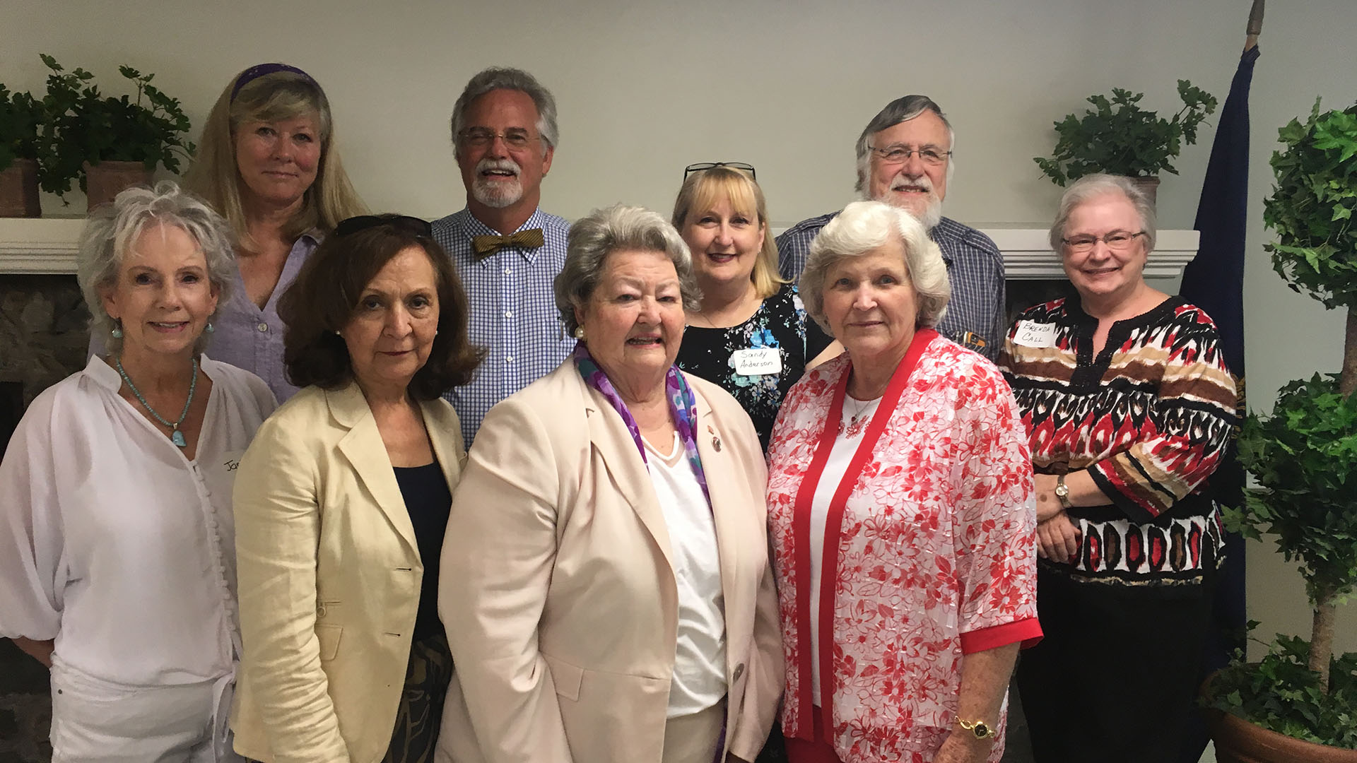 Romanza Johnson, President of KRTA, speaks to Calloway County Retired Teachers Association at the May 7, 2018 meeting in Murray. (L-R) Front : Janis Hicks, Amy Pittman, Romanza Johnson, Ann Yarborough, Carlisle Co. RTA. (L-R) Back : Pat Seiber, Marshall Ward, Sandy Anderson, Ken Wolf, and Brenda Call.
