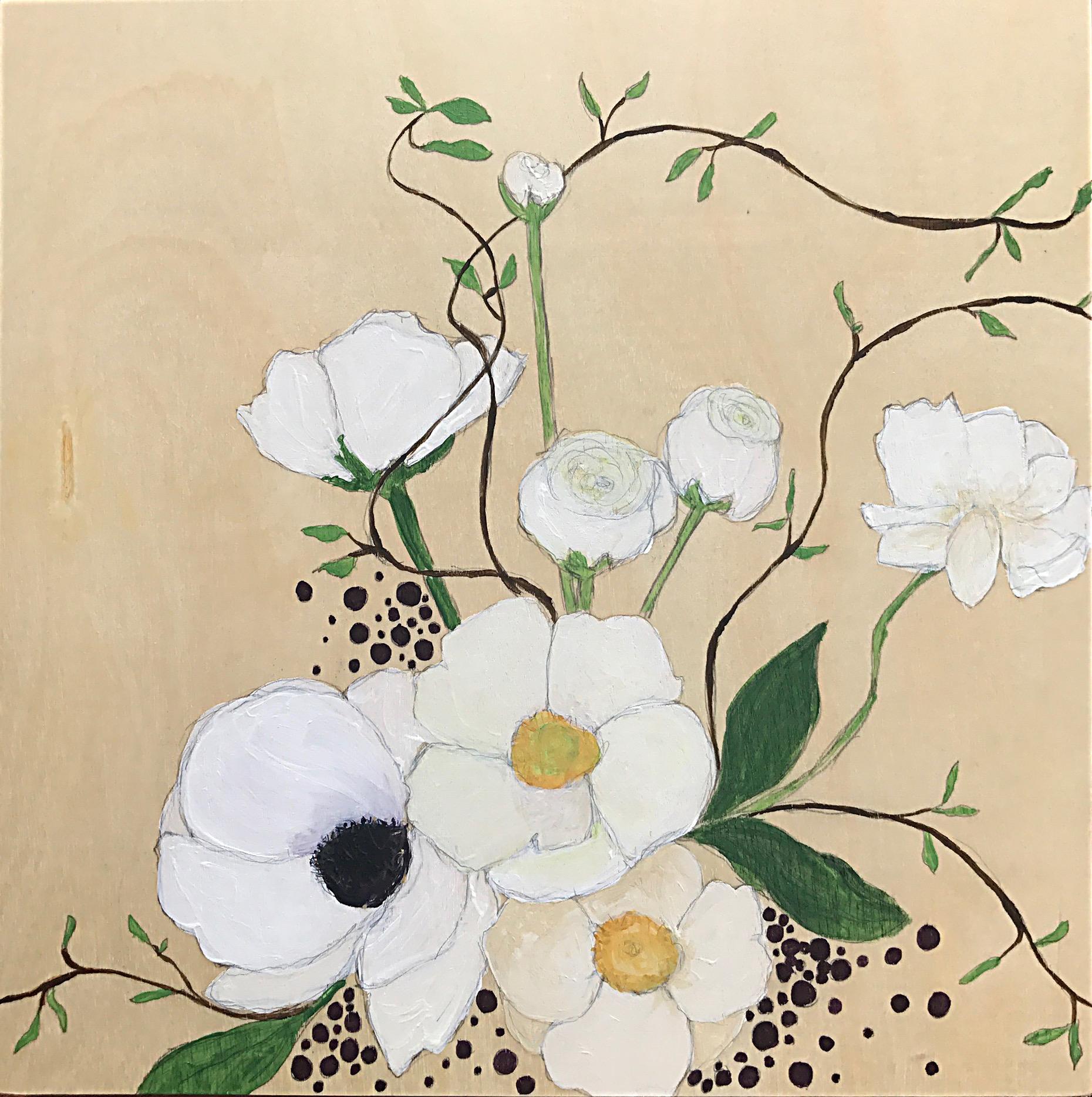 """""""White Anemones"""""""