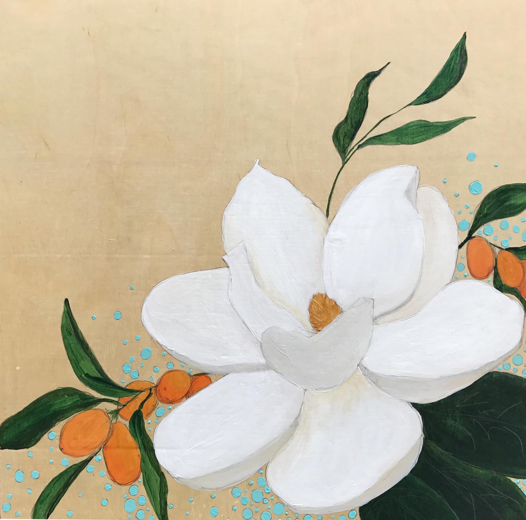 """""""Magnolia with Kumquats"""""""