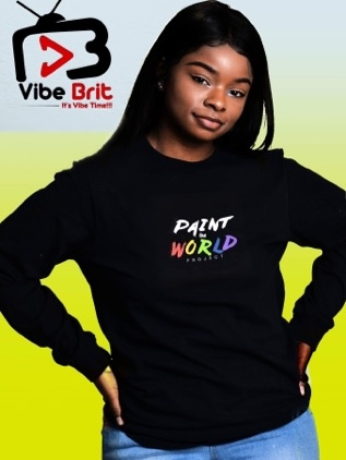 the Vibebrit show - Painting a better world one smile at a time. :-)