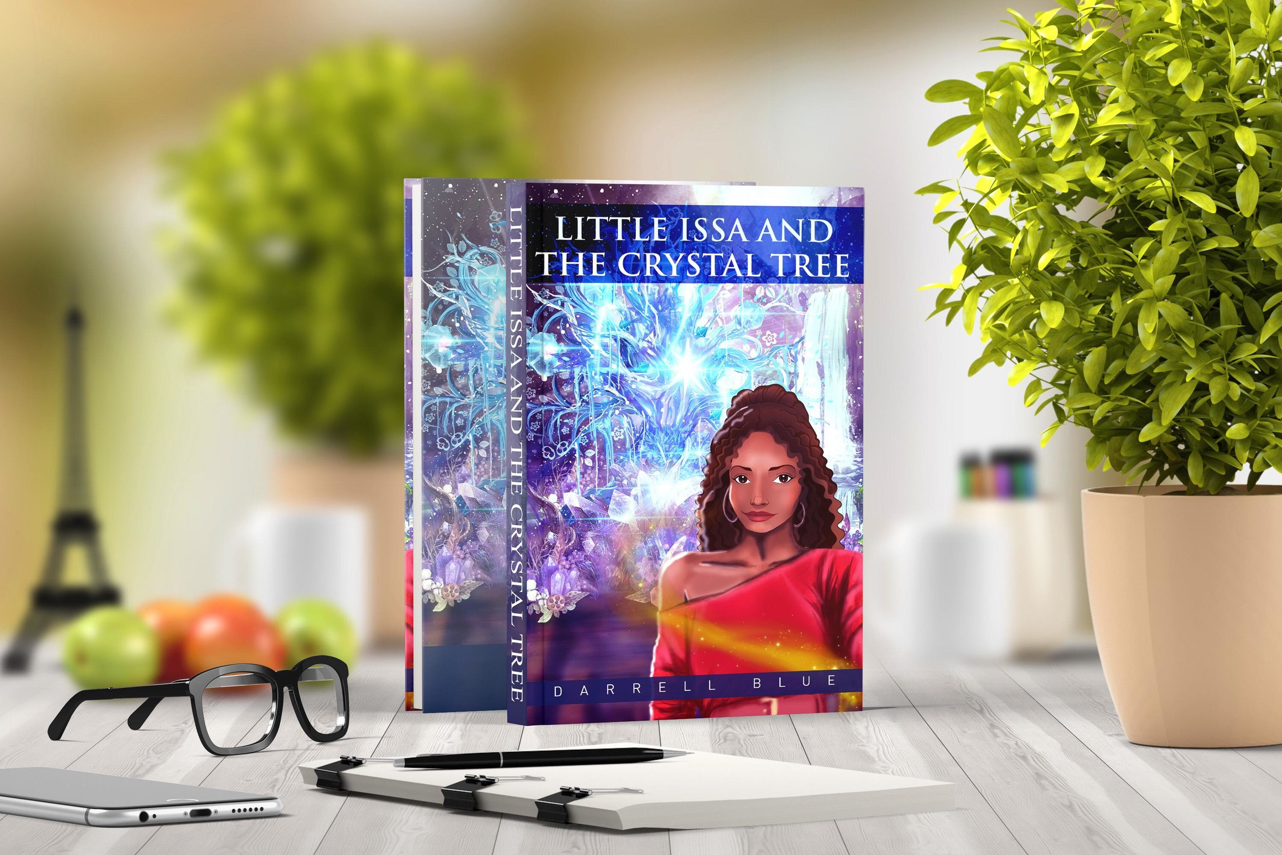 """Paint the World Project presents """"Little Issa and the Crystal Tree"""""""
