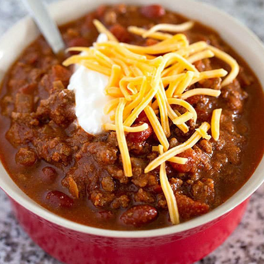 The Best Classic Chili -