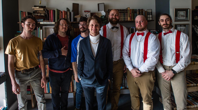 Pictured from left to right: Dan, Chris, Daniel, Brady, Jonathan, Heath, & Alex.  Photo Credit Dan Busey