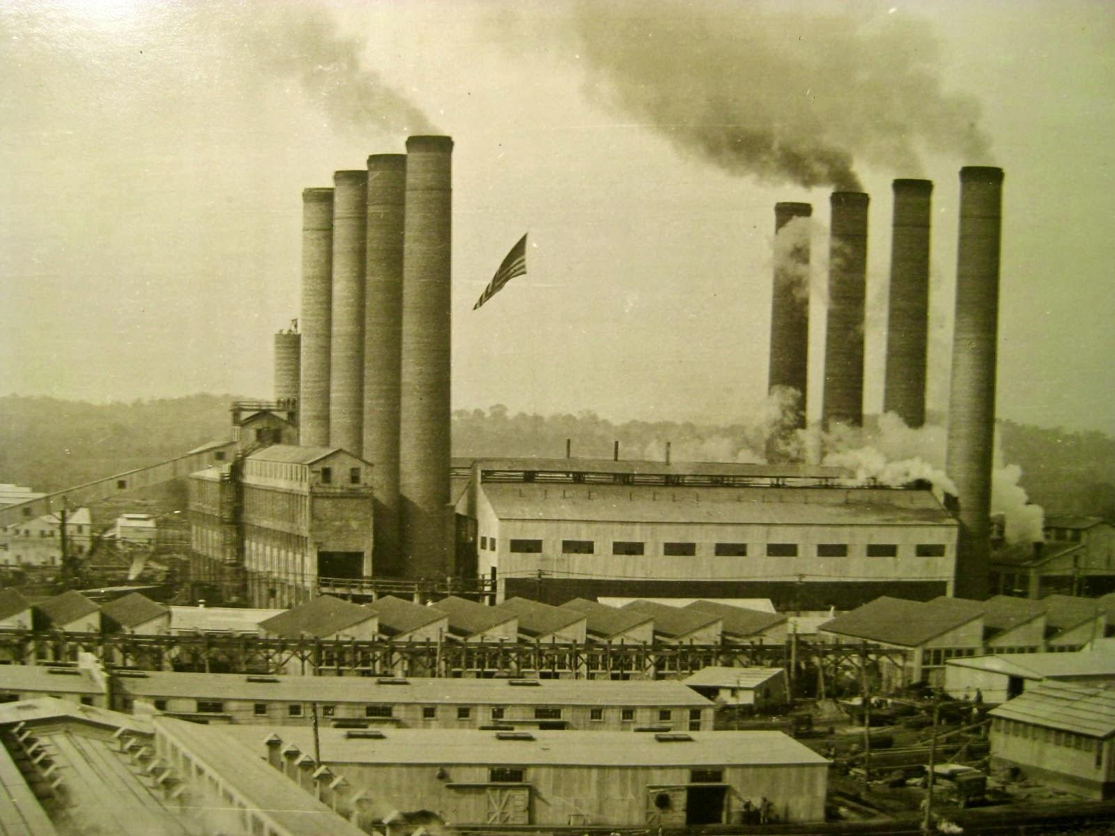 DuPont Gunpowder Plant, courtesy of George Massey.  http://nashvillehistory.blogspot.com/2014/01/powder-plant-at-jacksonville-tennessee.html