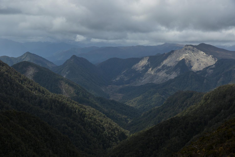 New Zealand hiking views