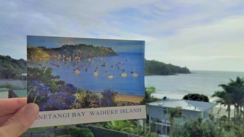 oneroa Beach on waiheke island