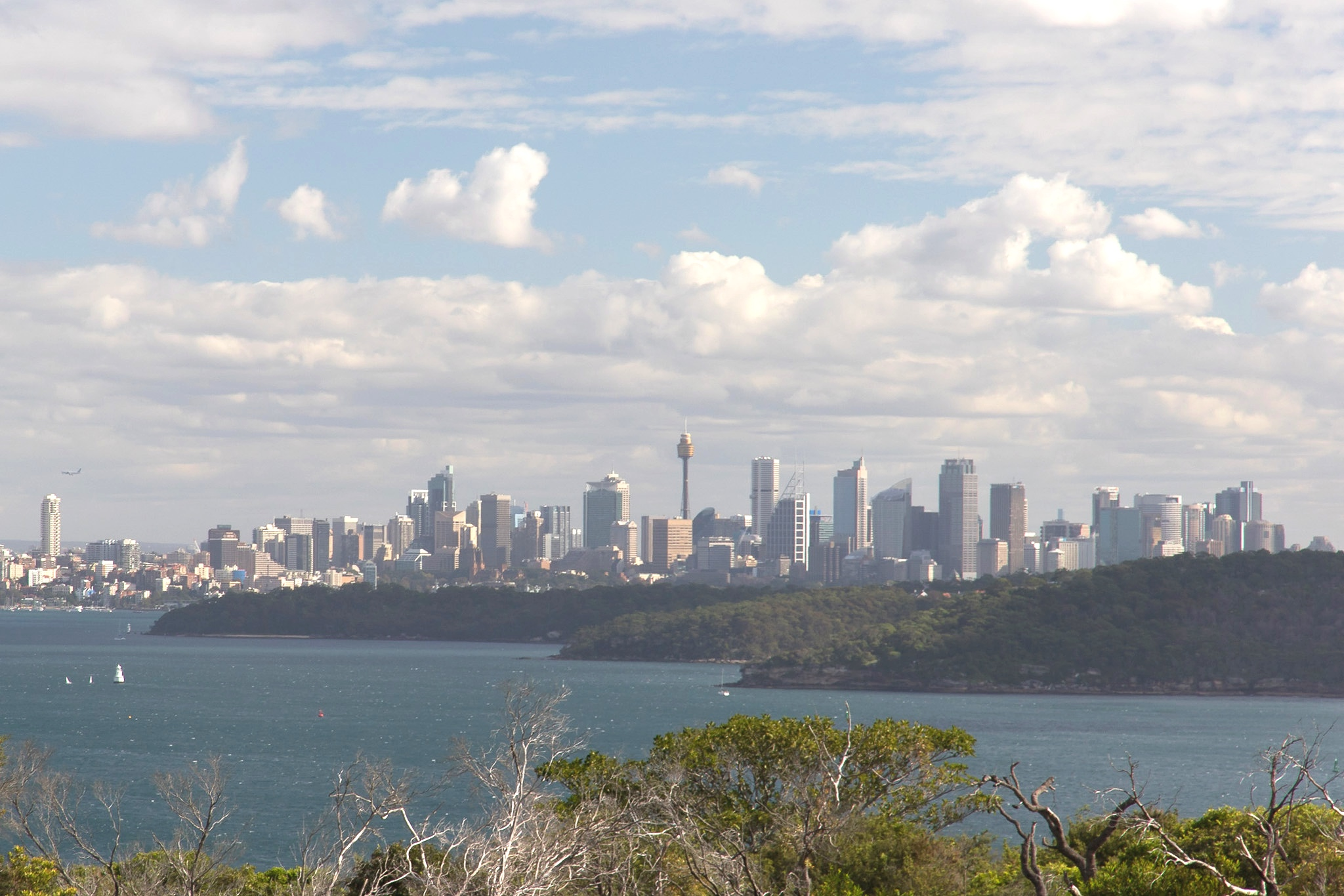Sydney Australia skyline from North Head