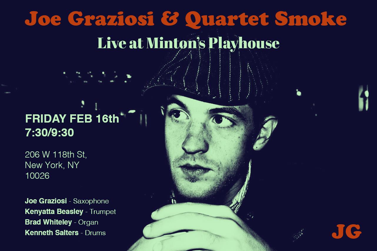 Joe Graziosi (Tenor Saxophone)
