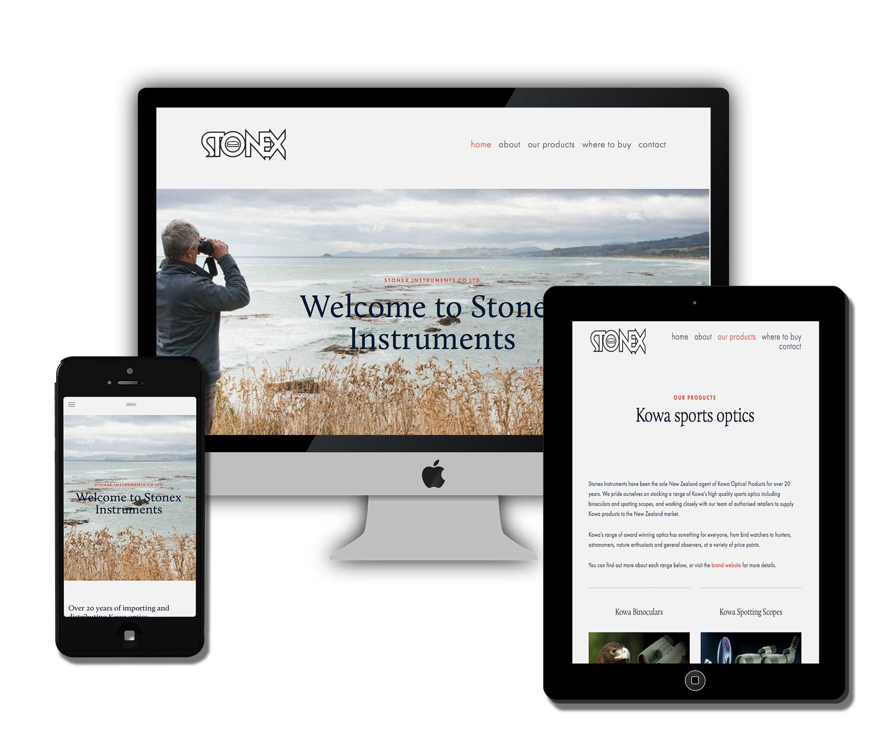 Stonex Instruments business website