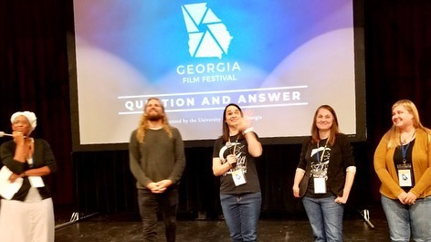 Very very awesome screening at Georgia Film Festival. This audience is so engaged and attentive and asked thoughtful, fabulous questions. Huge gratitude and props to this phenomenal festival. #gff2019 #thisworldalonefilm #welovefilmfestivals