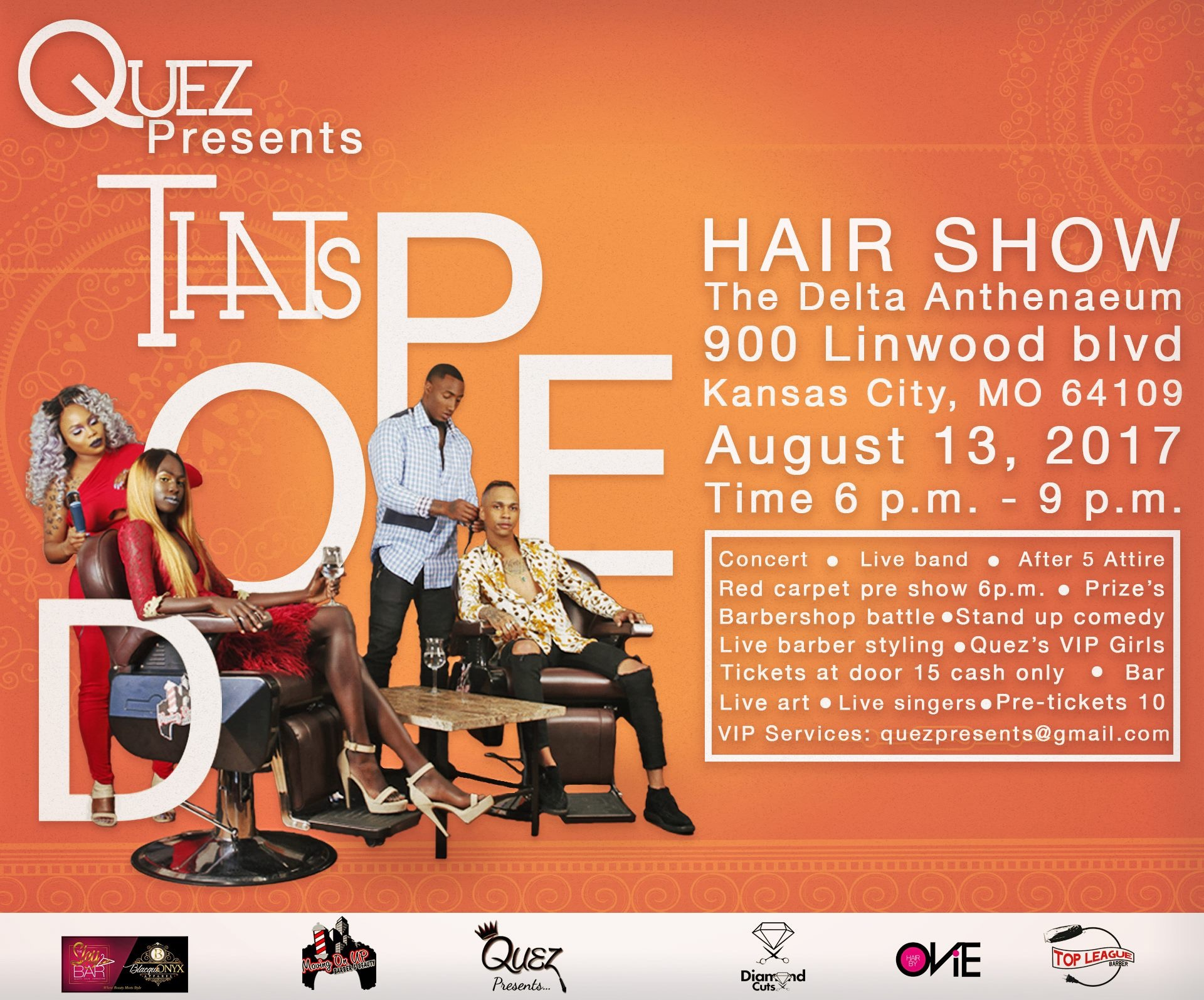 Quez Presents Hair Show with Hair by Ovie