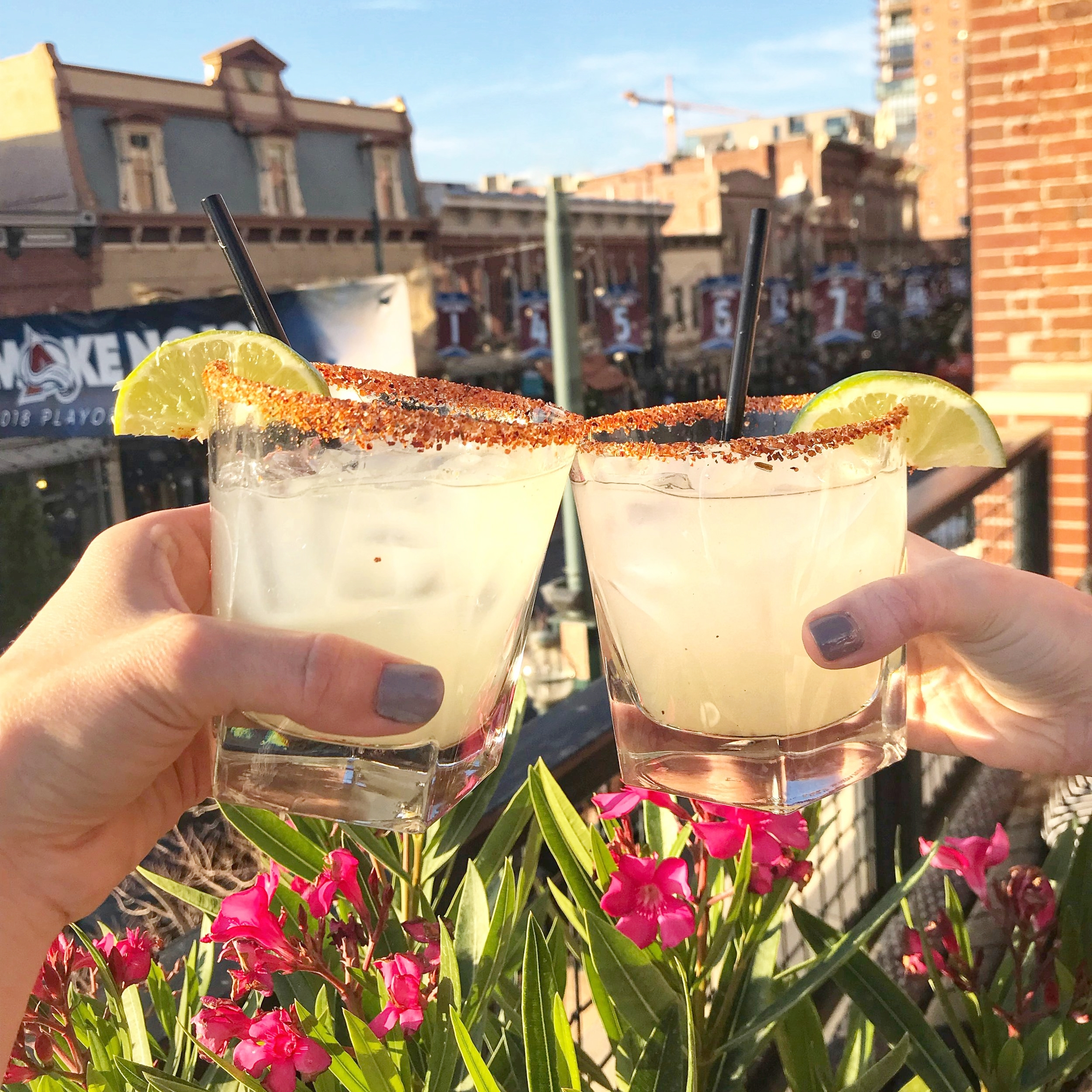 Why we love it: brunch, margs, fun atmosphere  We know this one isn't in Boulder, but we love it, so we're including it! First, it's on the adorable Larimer Street. The rooftop is a really good size. Part of it is covered and perfect for that rooftop vibe but not getting pelted by the sun. There's a spot that is open as well, and it has cute lounge seating and views of Larimer. We really enjoyed the food and margaritas. This rooftop also has its own bar, so you never have to wait long for drinks. It all around just has a great vibe. Plus, they have a delicious brunch that includes Guava and Mango Mimosas!