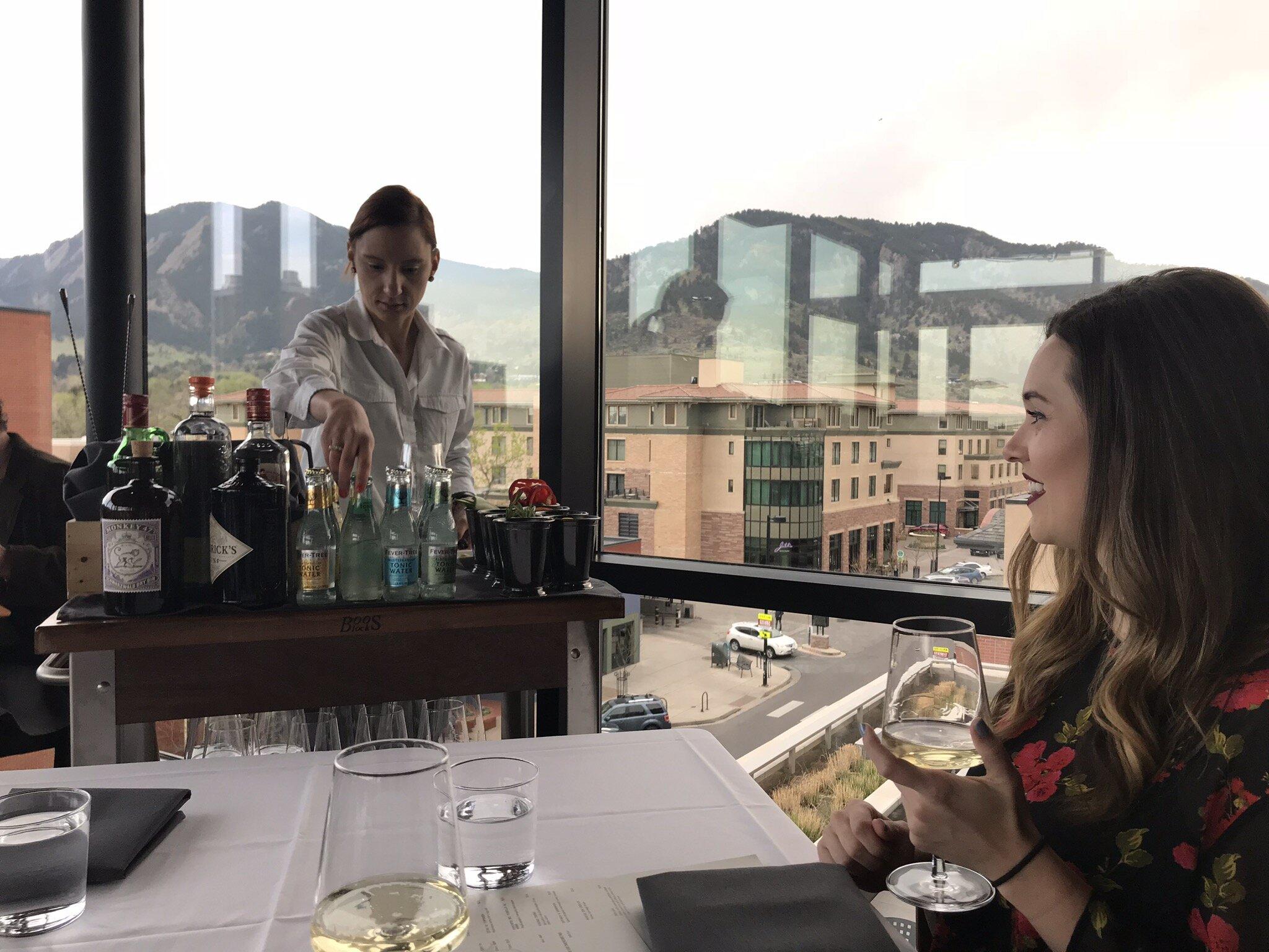 Table-side Gin and Tonics at Corrida
