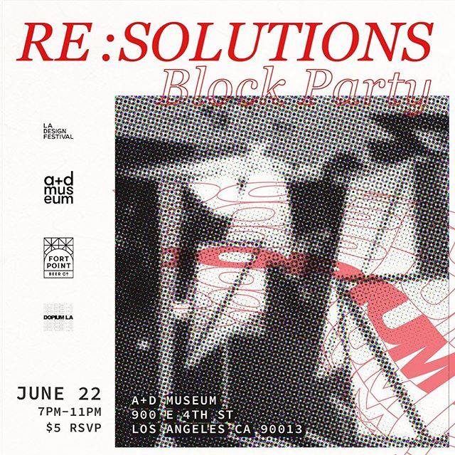 RSVP IN BIO LINK - A night of celebration with our collaborators, revealing a custom architectural installation designed and fabricated by @owiudesign. - - RE : SOLUTIONS explores the communicative potential of the arts and the stories that inspire conception out of necessity. Curated by DOPIUM LA, the exhibit brings artists of varying cultures, backgrounds and professions to the heart of LA's Arts District. Here they showcase multimedia pieces that blur the lines between disciplines and characterize their personal resolutions whether they serve practical, emotional, spiritual or political purposes.