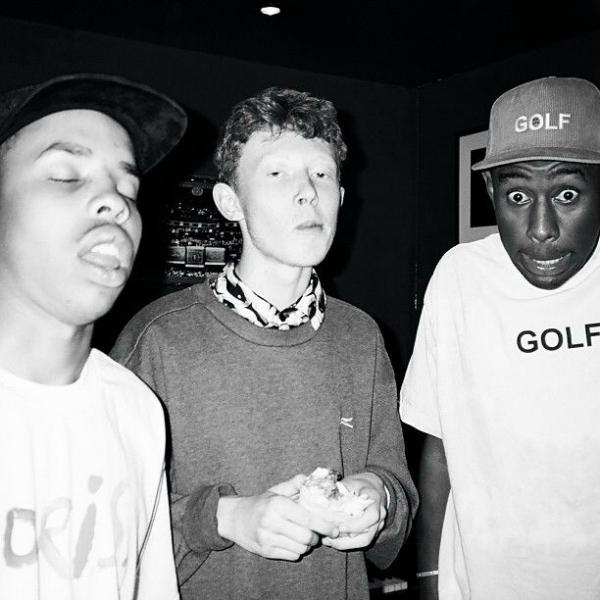King Krule with tyler the creator and earl sweatshirt