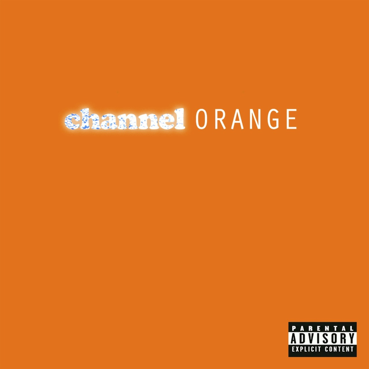 Channel Orange Frank Ocean
