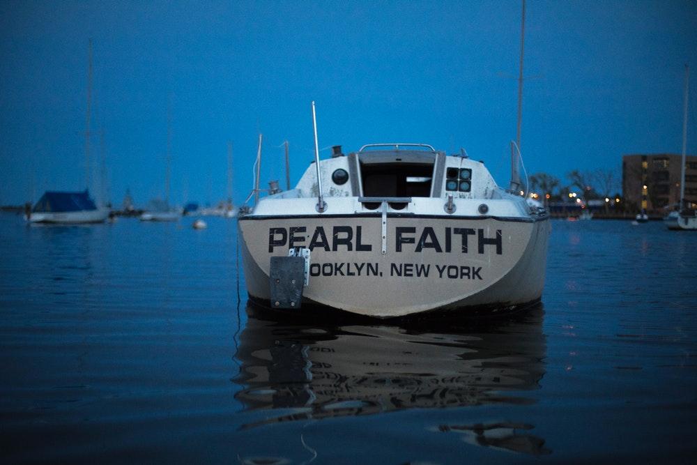 Brooklyn mooring Abandoned boat