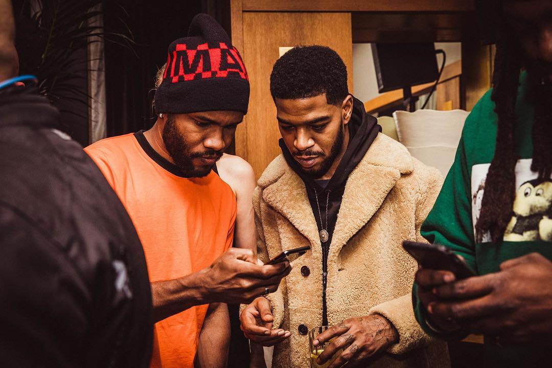 Frank Ocean and Kid Cudi (Kimmika)