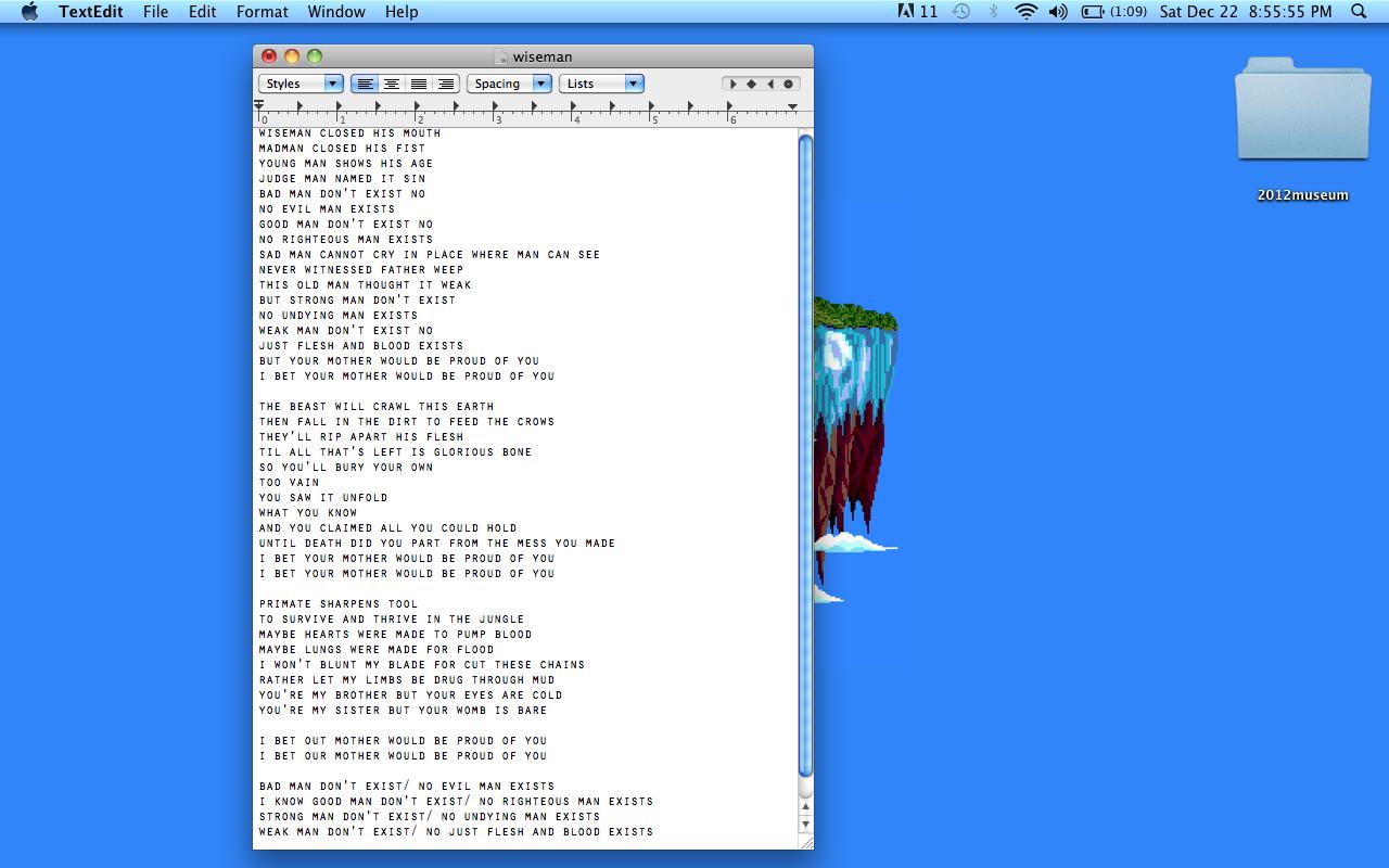 Wiseman Lyrics