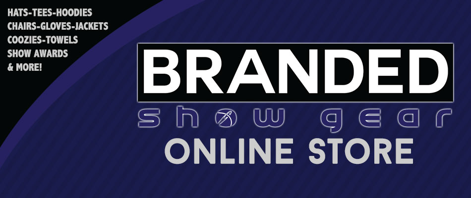 Thanks for visiting. Below you will find links to current open online stores for orders being produced for organizations by Branded Show Gear.